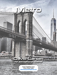 Metro by David Larsen published by Mike Keepe Publications